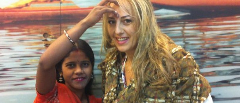 "Florentina Opris si-a inceput calatoria: ""Pentru mine, India inseamna forta si intelepciune""!"