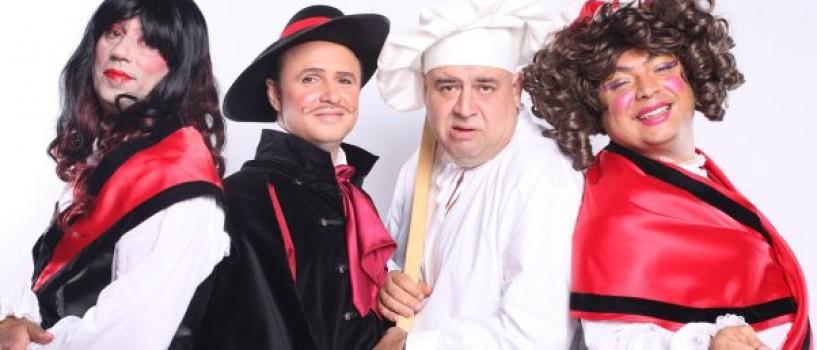 Din 10 septembrie Trăsniţii joacă în telenovela Amor del Sangria!