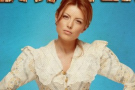 Elena Gheorghe a fost transformata in matusa Polly din Tom Sawyer!