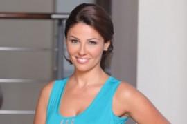Oana Cuzino a realizat un DVD de Pilates