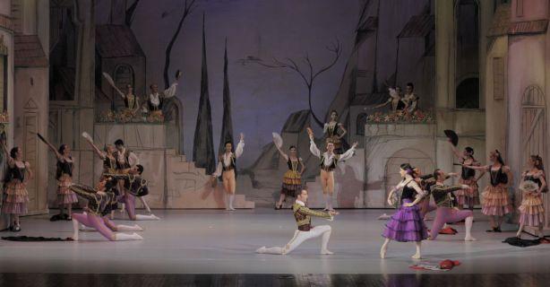 Debuturi pe scena ONB in baletul Don Quijote!