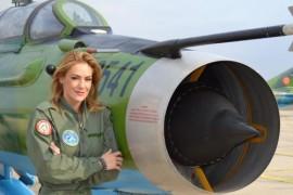 Roxana Ciuhulescu va zbura cu un supersonic!