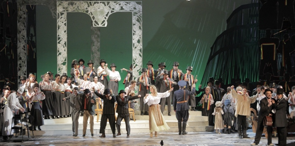 Angela Gheorghiu a luat parte la premiera operei O scrisoare pierduta