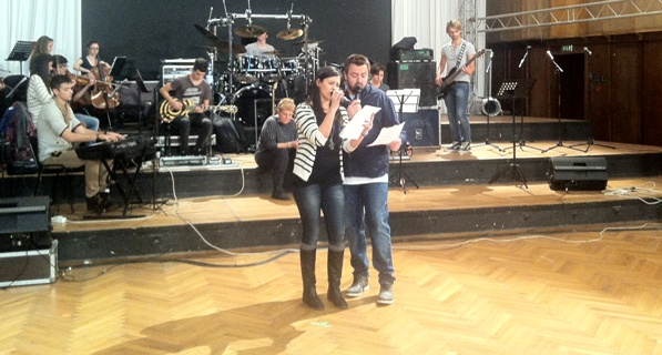 LaLa Band pe aceeasi scena cu Horia Brenciu