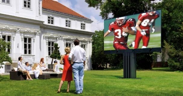 Cat de mare este cel mai mare televizor din lume?