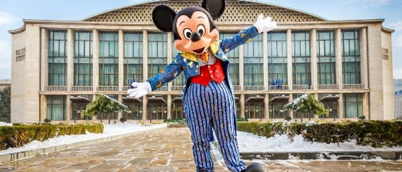 Personajele Disney au ajuns la Bucuresti si se pregatesc de spectacol!