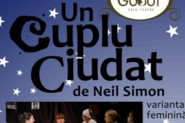 Un cuplu ciudat, de Neil Simon, se joaca miercuri la Godot Cafe-Teatru