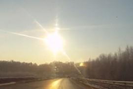 """Caderea meteoritului din Muntii Urali – """"o spectaculoasa coincidenta cosmica"""" (VIDEO)"""
