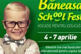 Vrei sa iti inscrii copilul la gradinita sau la scoala? Vino la Baneasa School Fest!