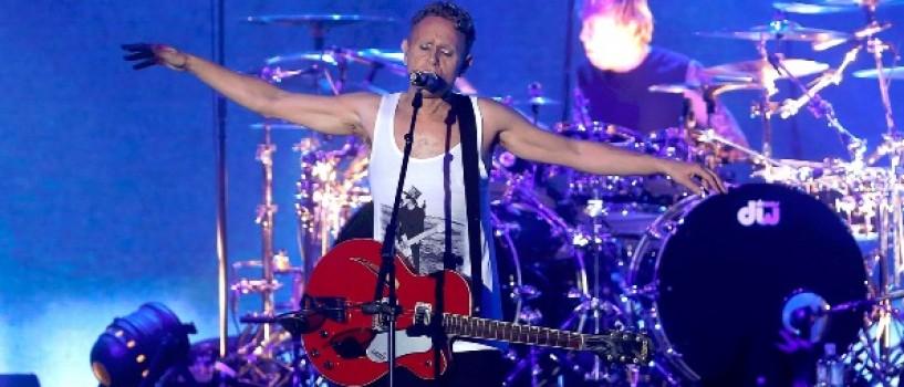 Depeche Mode – concert exclusivist pentru lansarea albumului Delta Machine