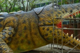 Pasionatii de dinozauri vor putea vizita in curand adevaratul Jurassic Park