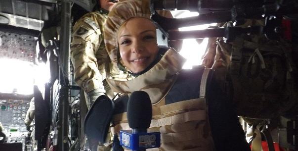 Lavinia Petrea s-a intors cu o amintire speciala din Afganistan