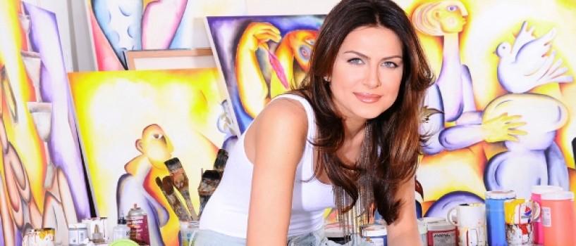 Alexandra Nechita: Părinţii mei nu au fost niciodată uimiţi de talentul meu