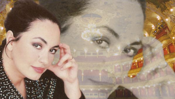 Soprana Anda-Louise Bogza canta pe scena ONB, duminica seara, in Nabucco