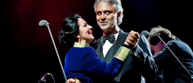 Andrea Bocelli a rupt muzica tacerii cu un concert emotionant daruit romanilor