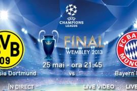 Finala UEFA Champions League se vede la TVR