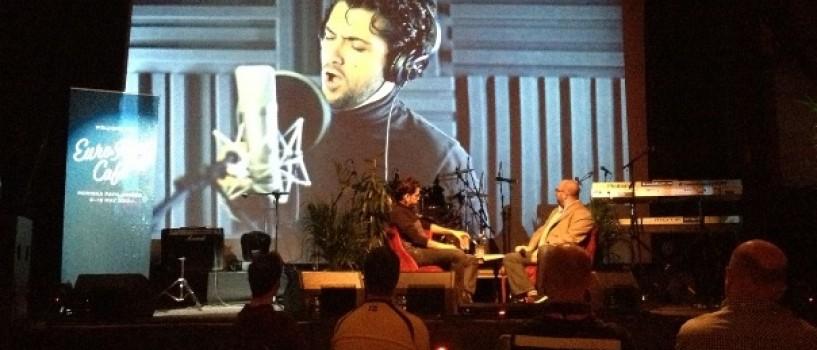Cezar, invitat la un talk-show în EuroFan Café
