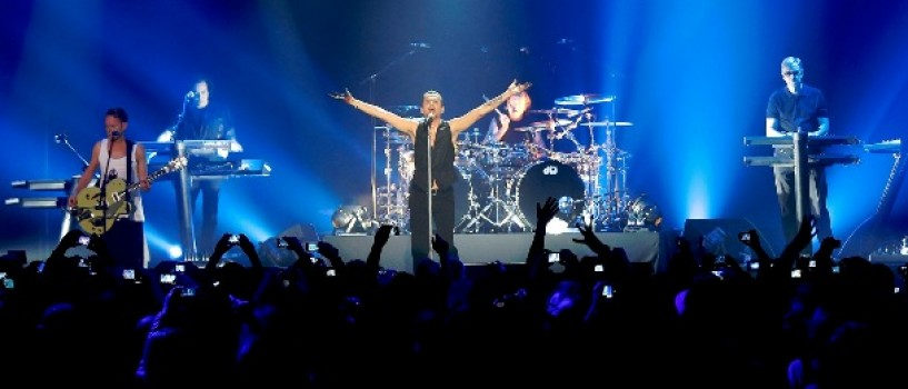 Show-ul  Depeche Mode – o productie impresionanta!