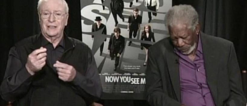 Morgan Freeman a adormit in timpul unui interviu TV! (VIDEO)