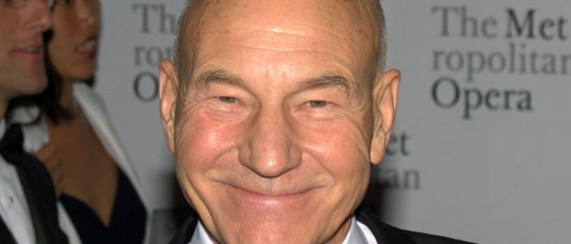 Capitanul Jean Luc Picard din Star Trek a mancat pentru prima data pizza!