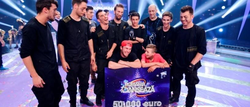Trupa Freakquency a câştigat trofeul România Danseazã