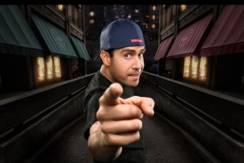 Comediantul american Pablo Francisco vine in Romania!
