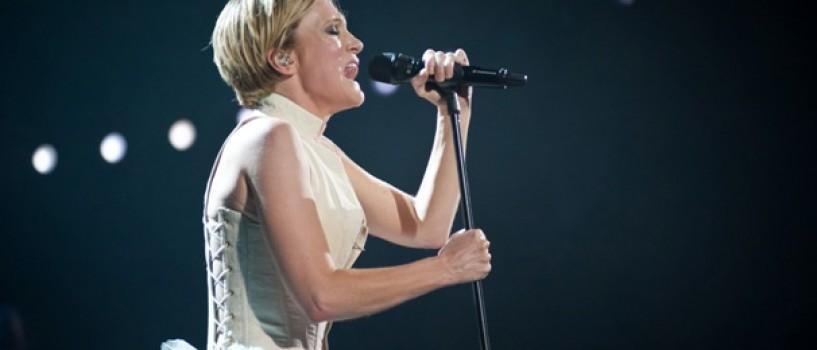 Patricia Kaas a oferit la Bucuresti un spectacol plin de emotie si senzualitate!