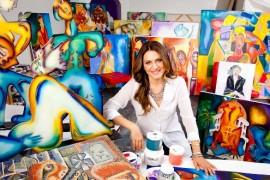 Interviu cu Alexandra Nechita si Dragoş Mihalcea! O lectie de viata, in cateva randuri!