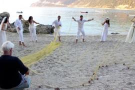 Nunta à la grec pentru Anca Lungu!