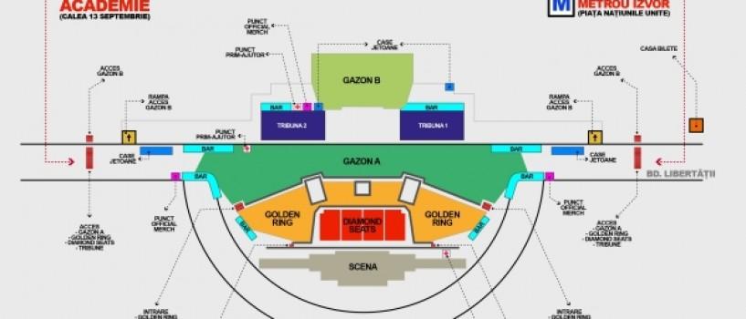 Concert Roger Waters: Detalii acces si program