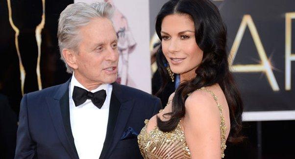 Michael Douglas sustine ca mariajul lui cu Catherine Zeta-Jones... e... bine!