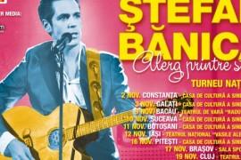 Stefan Banica pleaca in turneu in luna noiembrie
