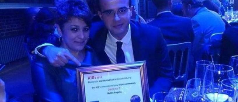 Antena 3, premiul special al juriului AIB Londra 2013