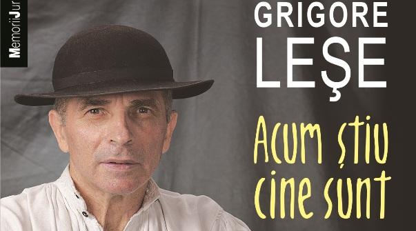 Grigore Lese isi lanseaza volumul Acum stiu cine sunt la Gaudeamus!