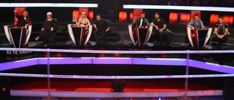 Cornel Ilie, Serban Cazan, Randi si Monica Anghel sunt co-antrenori la Vocea Romaniei!
