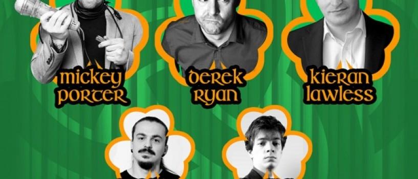 Umorul irlandez vine de Saint Patrick's Day la Bucuresti!