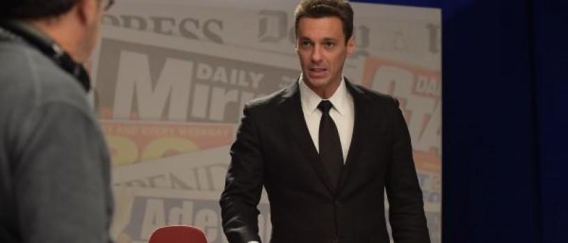 Mircea Badea isi joaca propriul rol in filmul lui Vlad Paunescu, LIVE!