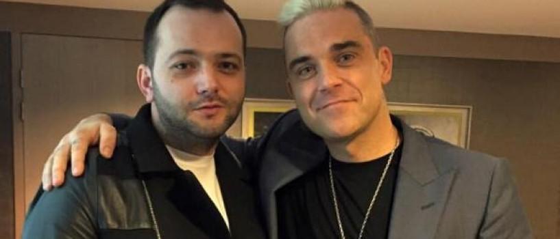 Robbie Williams vorbeste cu Romania in aceasta seara!