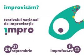 Teatru de improvizatie pe intuneric la IMPRO!