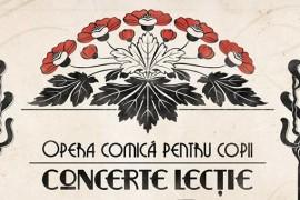 Felicia Filip sustine concerte-lectie la Opera Comica pentru Copii
