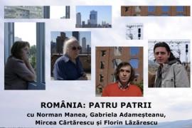 De vazut! Romania: patru patrii, un nou documentar semnat de Alexandru Solomon!