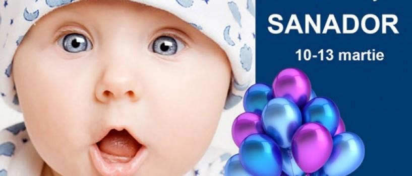 Viitorii parinti sunt asteptati la Zilele Baby Sanador!
