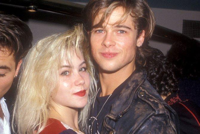 Toate iubirile lui Brad Pitt...