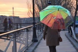 Umbrela inteligenta te anunta cu jumatate de ora inainte daca va ploua!