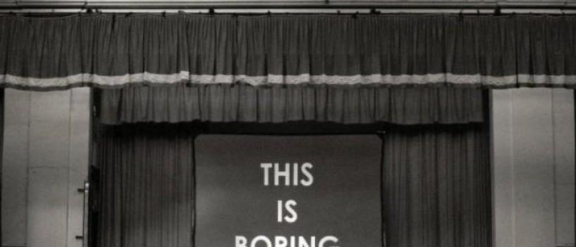 Afla ce se intampla la Boring Conference – conferinta anuala despre lucruri plictisitoare!