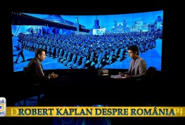 Reputatul analist politic Robert D. Kaplan dezbate situatia Romaniei, duminica, la Dupa 20 de ani!