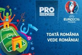 Campionatul European de Fotbal va fi transmis de Pro Tv!
