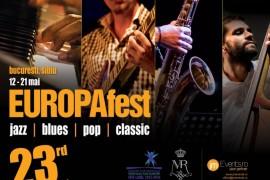 Festin cultural cu jazz, blues, pop si clasic, timp de 10 zile la Bucuresti si Sibiu!