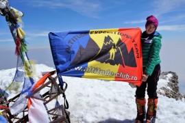 Alpinista Dor Geta Popescu a stabilit un nou record mondial pentru Pico de Orizaba, cel mai inalt vulcan din America de Nord