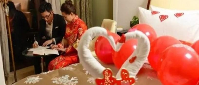 Nu o sa-ti vina sa crezi ce au facut doi tineri chinezi in noaptea nuntii!